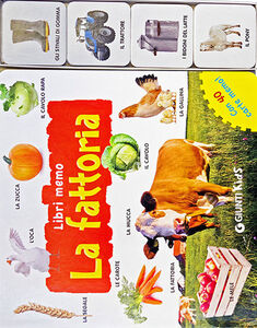 Libro La fattoria. Con 40 carte memo  0