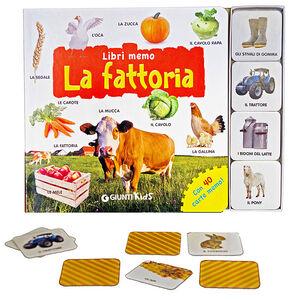Libro La fattoria. Con 40 carte memo  1