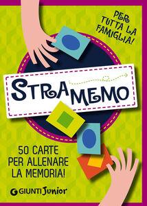 Foto Cover di Stramemo. 50 carte per allenare la memoria!. Per tutta la famiglia, Libro di Beniamino Sidoti, edito da Giunti Junior