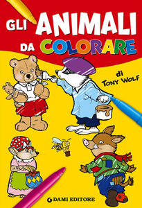 Libro Gli animali da colorare