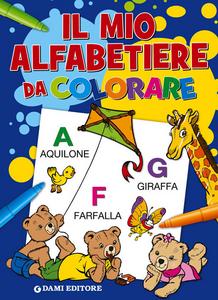 Libro Il mio alfabetiere da colorare