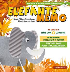 Libro Elefante Memo. Prove gioco-laboratori M. Chiara Passolunghi , Hiwet M. Costa