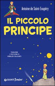 Libro Il Piccolo Principe (copertina blu) Antoine de Saint-Exupéry