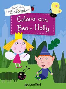 Winniearcher.com Colora con Ben e Holly. Ben & Holly's Little Kingdom Image