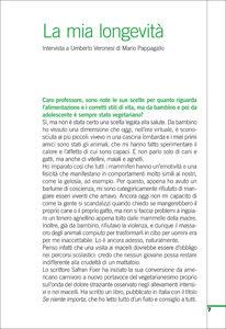 Libro I segreti della lunga vita. Come mantenere corpo e mente in buona salute Umberto Veronesi , Mario Pappagallo 3