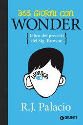 365 giorni con Wonder. Libro dei precetti del Sig. Browne copertina