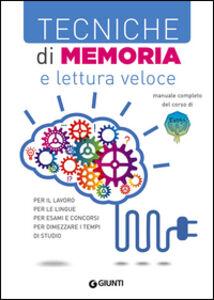 Libro Tecniche di memoria e lettura veloce Maurizio Possenti , Paola Cuppini