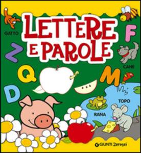 Libro Lettere e parole