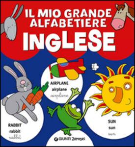 Libro Il mio grande alfabetiere inglese
