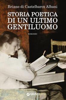 Premioquesti.it Storia poetica di un ultimo gentiluomo Image