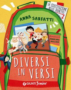 Libro Diversi in versi Anna Sarfatti