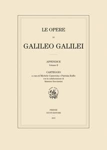 Foto Cover di Carteggio. Le opere di Galileo Galilei. Appendice. Vol. 2, Libro di  edito da Giunti Editore