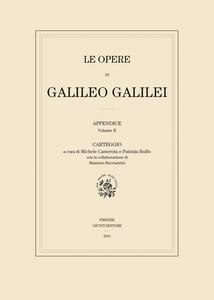 Libro Carteggio. Le opere di Galileo Galilei. Appendice. Vol. 2