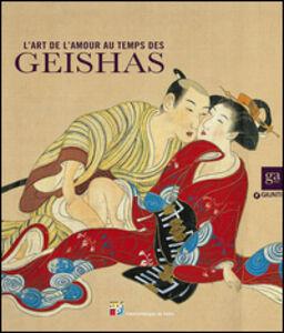 Libro L' art de l'amour au temps de geishas