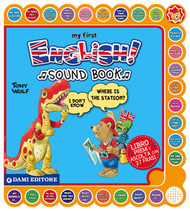 Libro My first english sound book Anna Casalis