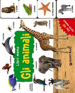 Libro Gli animali. Con 40 carte memo