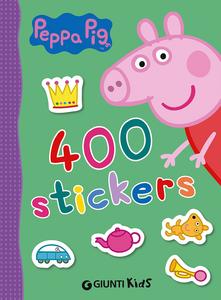 Libro 400 stickers. Peppa Pig. Con adesivi Silvia D'Achille