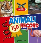 Animali. 150 record. Con adesivi