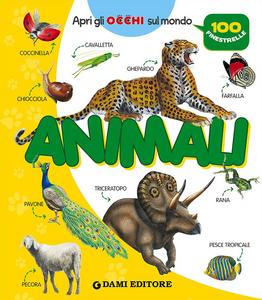 Libro Animali. 100 finestrelle Anna Casalis
