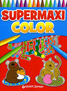 Supermaxi color. Ediz. illustrata - copertina