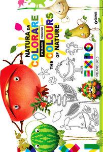 Libro Expo. Natura da colorare-The colours of nature