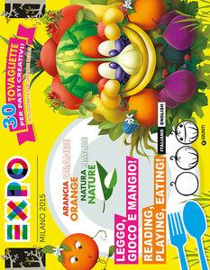 Libro Expo. Leggo, gioco e mangio!-Reading, playing, eating! 30 tovagliette per pasti creativi!