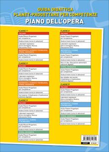 Guida Planet. Progettare per competenze. Matematica, scienze, teconologia. Vol. 3 - copertina
