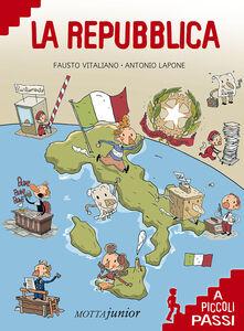 Libro La Repubblica a piccoli passi Fausto Vitaliano
