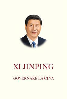 Governare la Cina - Jinping Xi - copertina