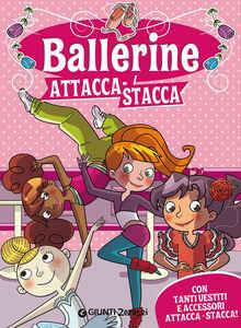 Foto Cover di Ballerine attacca-stacca. Con adesivi, Libro di Martina Boschi, edito da Giunti Junior