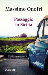 Libro Passaggio in Sicilia Massimo Onofri
