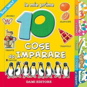 Foto Cover di Le mie prime 10 cose da imparare, Libro di Anna Casalis,Tony Wolf, edito da Dami Editore