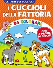 I cuccioli della fattoria da colorare