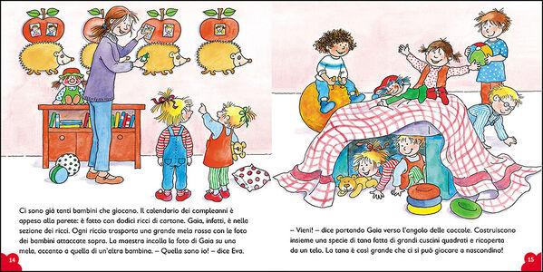 Libro Gaia il mio compleanno! Con pagine di giochi e attività Liane Schneider 2