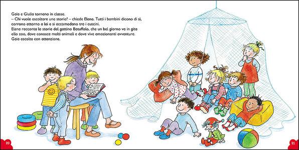 Libro Gaia va all'asilo. Con pagine di giochi e attività Liane Schneider 1