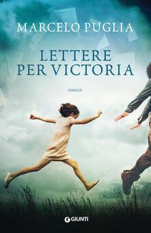 Lettere per Victoria - Marcelo Puglia - copertina