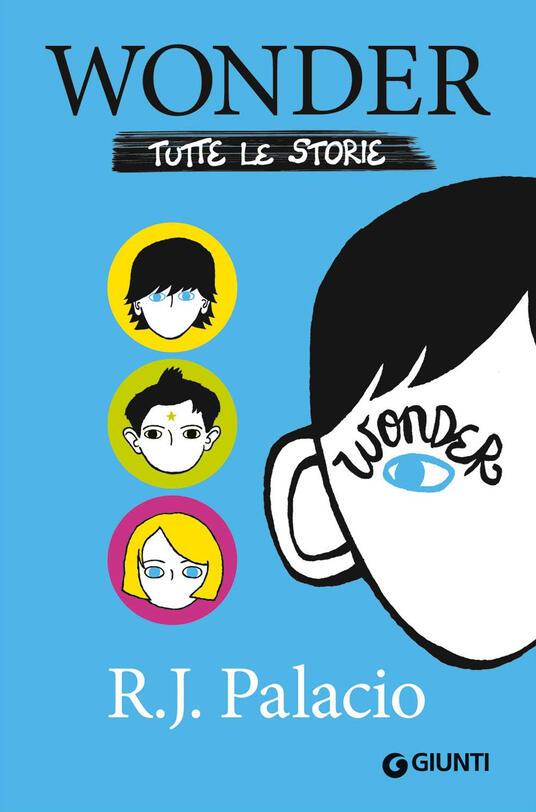 Wonder. Tutte le storie - R. J. Palacio - copertina