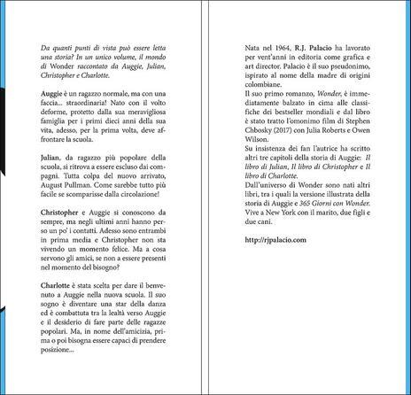 Wonder. Tutte le storie - R. J. Palacio - 2