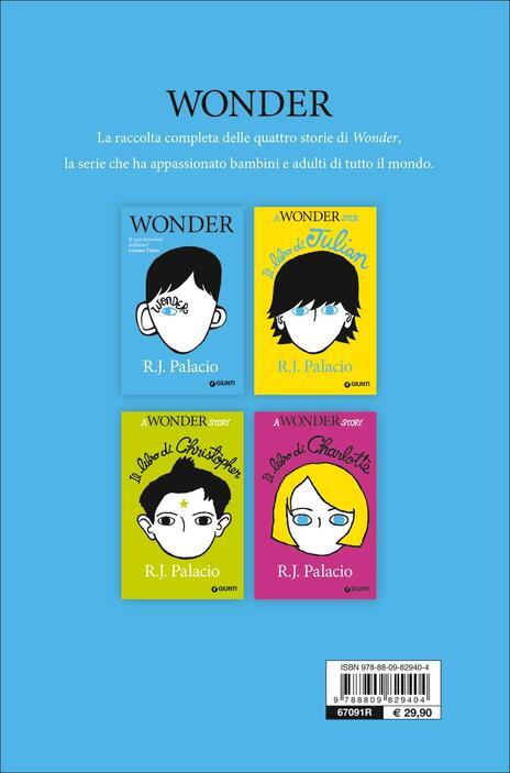Wonder. Tutte le storie - R. J. Palacio - 3
