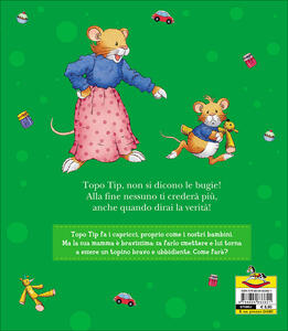 Topo tip dice le bugie anna casalis libro dami for Topo tip giocattoli