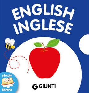 Foto Cover di English-Inglese, Libro di  edito da Giunti Kids 0