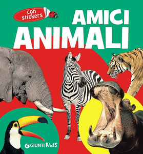 Libro Amici animali. Con adesivi Emanuela Busà