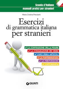 Promoartpalermo.it Esercizi di grammatica italiana per stranieri Image