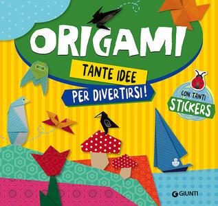 Origami. Con adesivi
