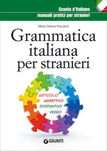 Fondazionesergioperlamusica.it Grammatica italiana per stranieri Image