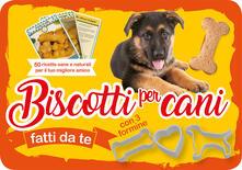 Amatigota.it Biscotti per cani fatti da te. 50 ricette sane e naturali per il tuo miglior amico. Con gadget Image