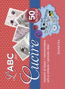Valentinavalontano.it L' ABC per cucire. 50 schede illustrate. Con gadget Image
