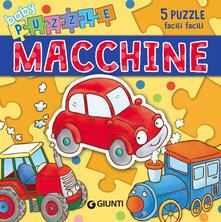 Squillogame.it Macchine. Libro puzzle. Ediz. a colori Image