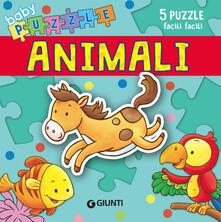 Antondemarirreguera.es Animali. Libro puzzle. Ediz. a colori Image