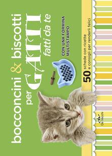3tsportingclub.it Bocconcini & biscotti per gatti fatti da te. 50 schede con ricette e consigli per renderli felici. Con gadget Image